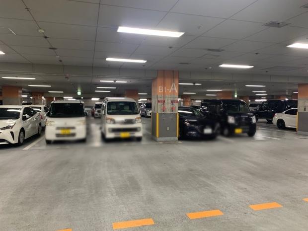OCATの駐車場