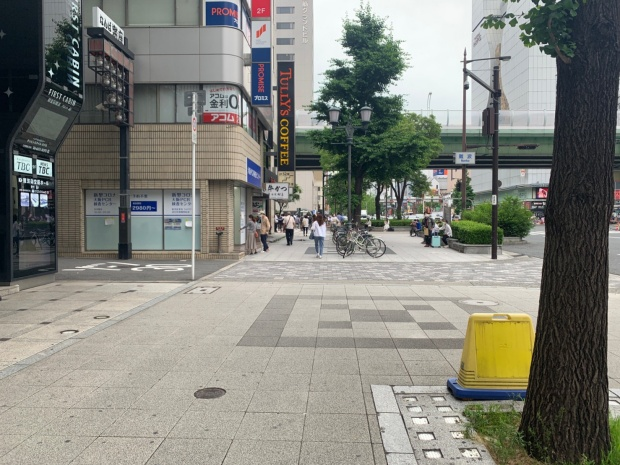 新型コロナ大阪PCR検査センターまでの道のり
