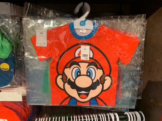 マリオのTシャツ