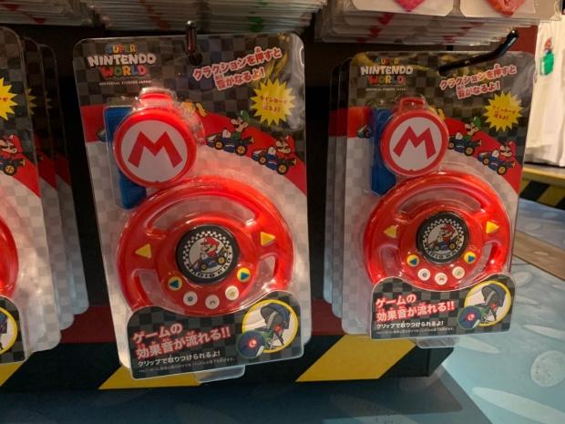 マリオカートのベビーカーに付けるおもちゃ