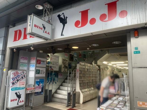 日本橋のCD&DVD&レコードショップ