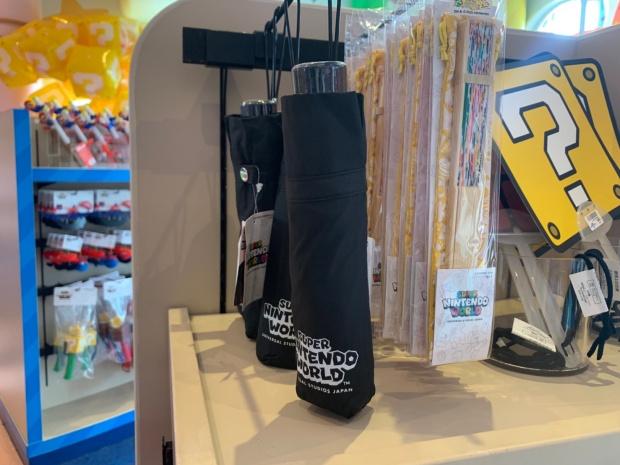 ニンテンドーワールドの折り畳み傘