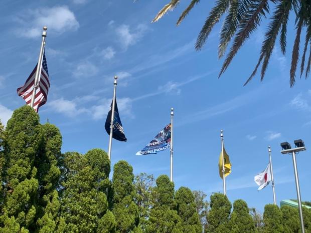 USJの旗