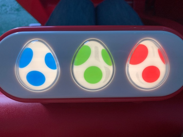 ヨッシーアドベンチャーのボタン