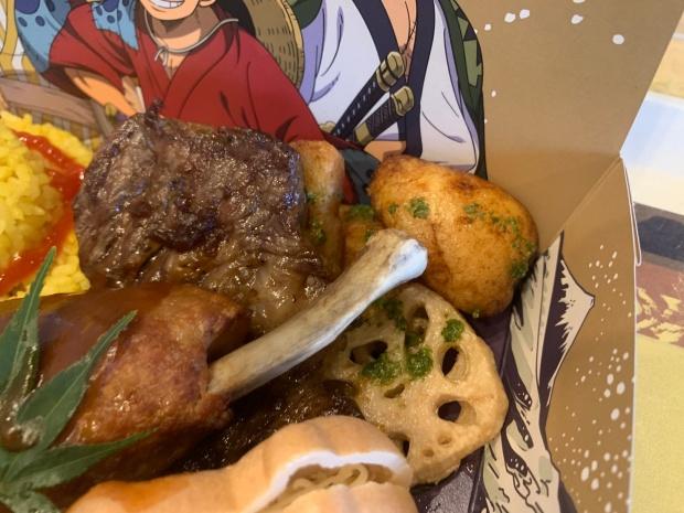 ルフィ太郎のビーフステーキ弁当