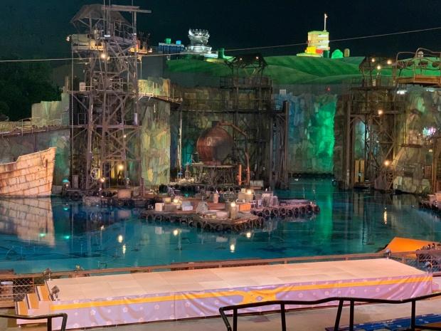 ワンピースプレミアショー2021の舞台