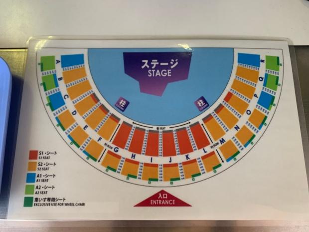 ワンピースプレミアショー2021のステージ一覧表