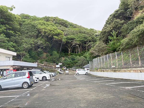 淡路島モンキーセンターの駐車場