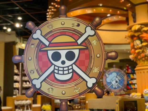 麦わらの一味の海賊旗のマーク