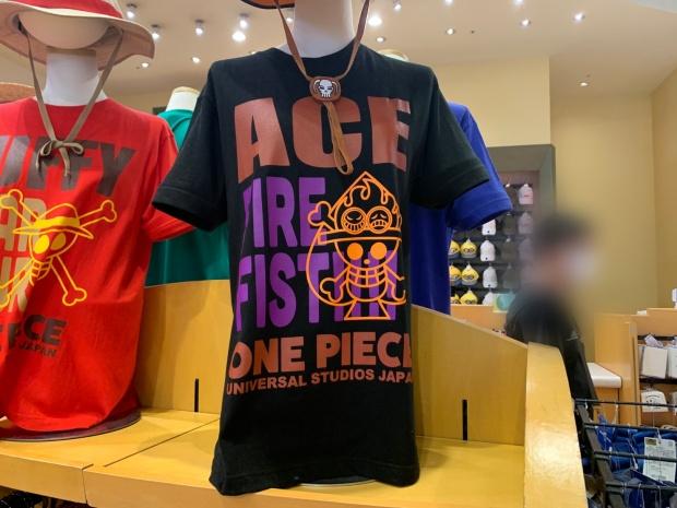 エースのTシャツ