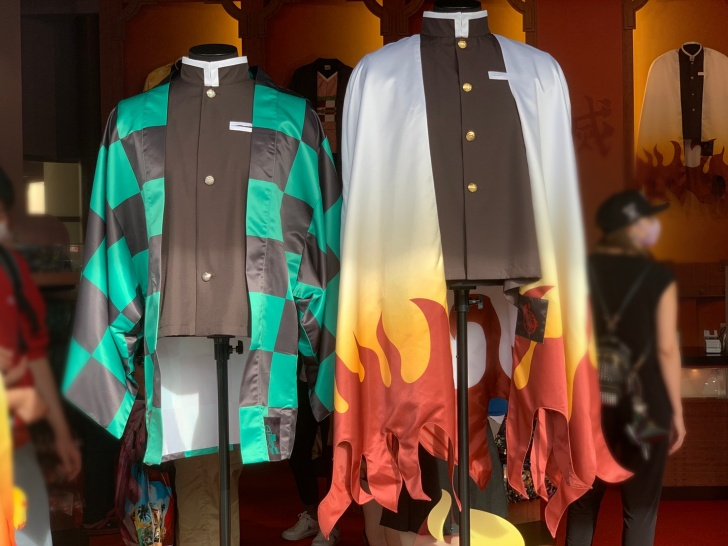 炭治郎と煉獄の羽織