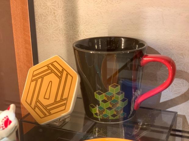 義勇のマグカップとコースター