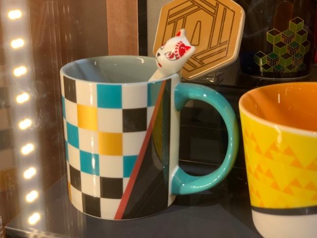 炭治郎のマグカップとスプーン