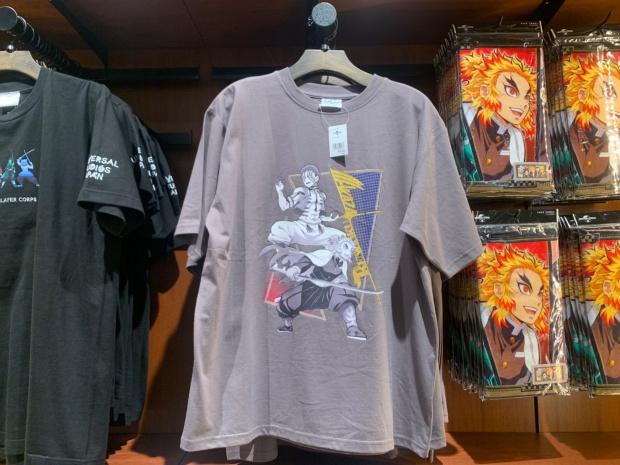 猗窩座と煉獄のTシャツ