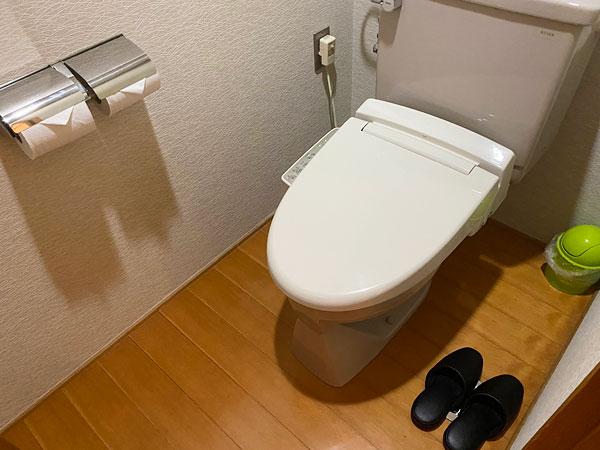 シーアイガ海月の部屋のトイレ