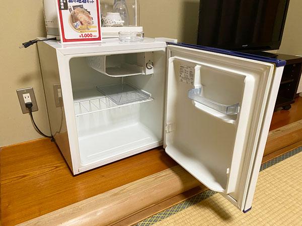 シーアイガ海月の部屋の冷蔵庫