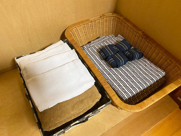 浴衣やタオル