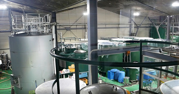 ワインの発酵タンク